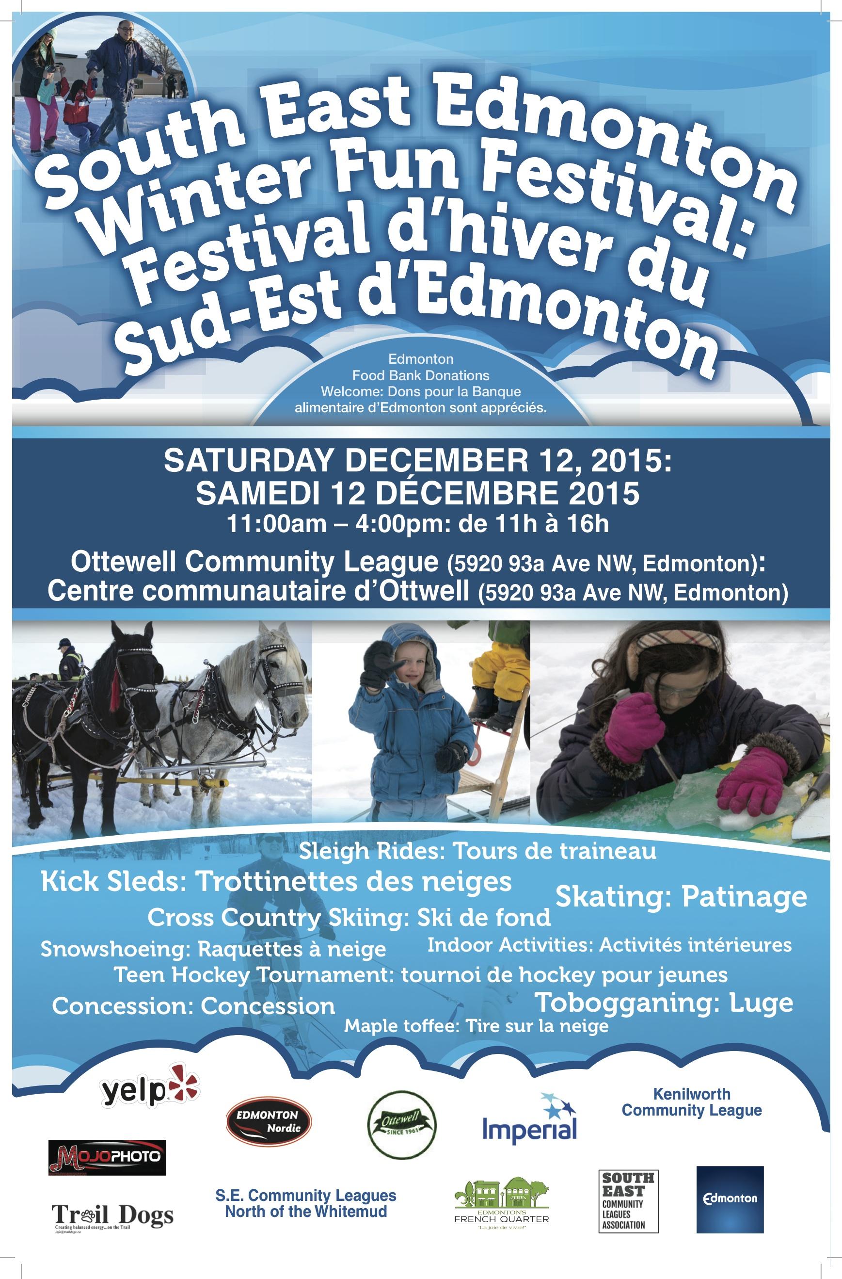 South East Edmonton Winter Fun Festival
