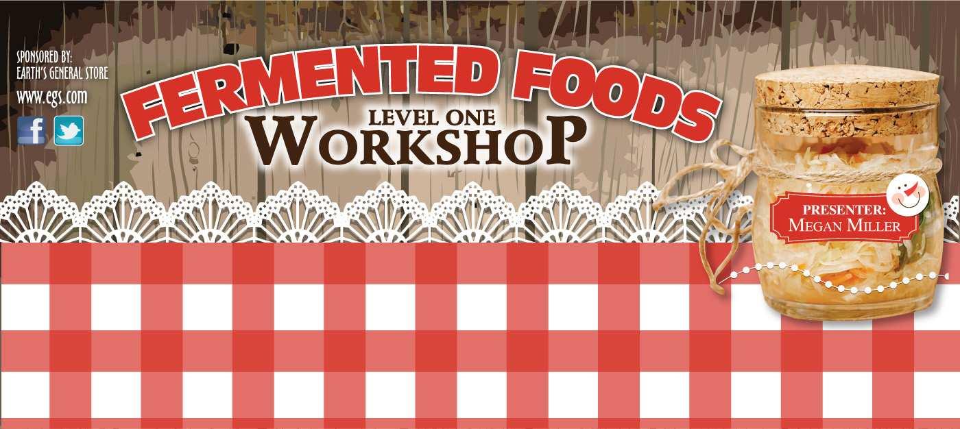 Fermented Foods Workshop 101
