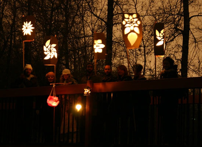 Mill Creek Lantern Workshop and Walk